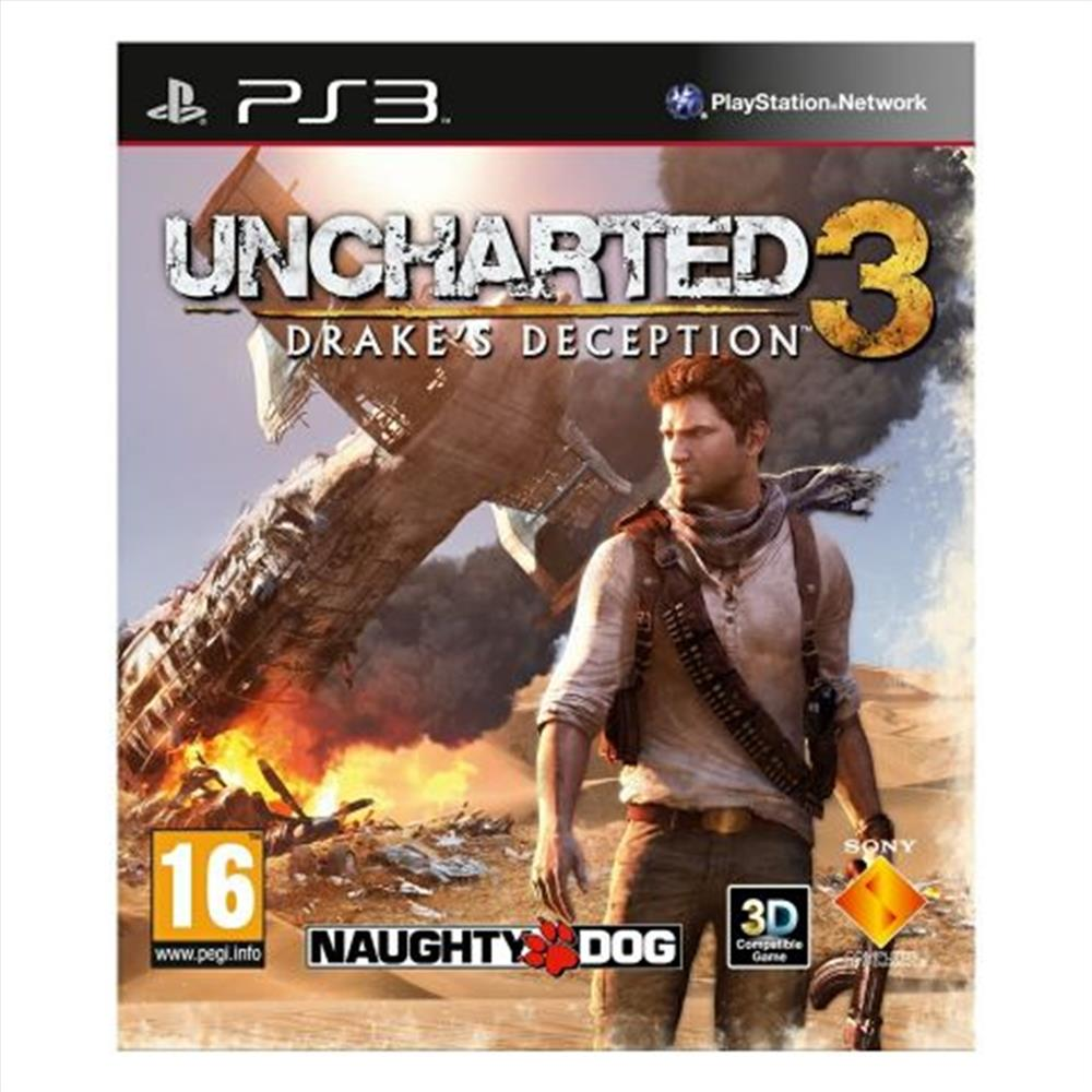 Picture of SONY 21070110 PS3 OYUN UNCHARTED 3 (TEK)  (Teşhir)