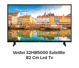Vestel 32HB5000 Satellite 82 Cm Led Tv