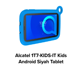 Alcatel 1T7-KIDS Kids MT8321 QuadCore Android Siyah Tablet