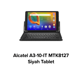 Alcatel A3-10-IT MTK8127 QuadCore 10.1 6.0 Android Siyah Tablet