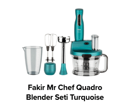 Fakir Mr Chef Quadro Blender Seti