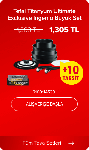 Tefal Titanyum Ultimate Exclusive İngenio Büyük Set 2100114538