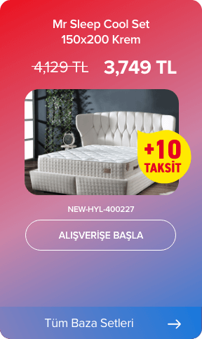 Mr Sleep Cool Set 150x200 Krem NEW-HYL-400227
