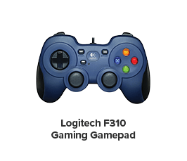 LOGITECH F310 GAMING GAMEPAD