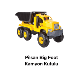 Pilsan Big Foot Kamyon Kutulu 6616