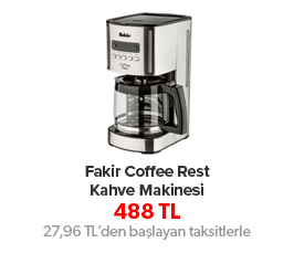 Fakir Coffee Rest Kahve Makinesi