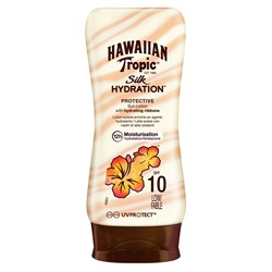 Hawaiian Tropic Lotion Silk Hydration Spf10 180Ml
